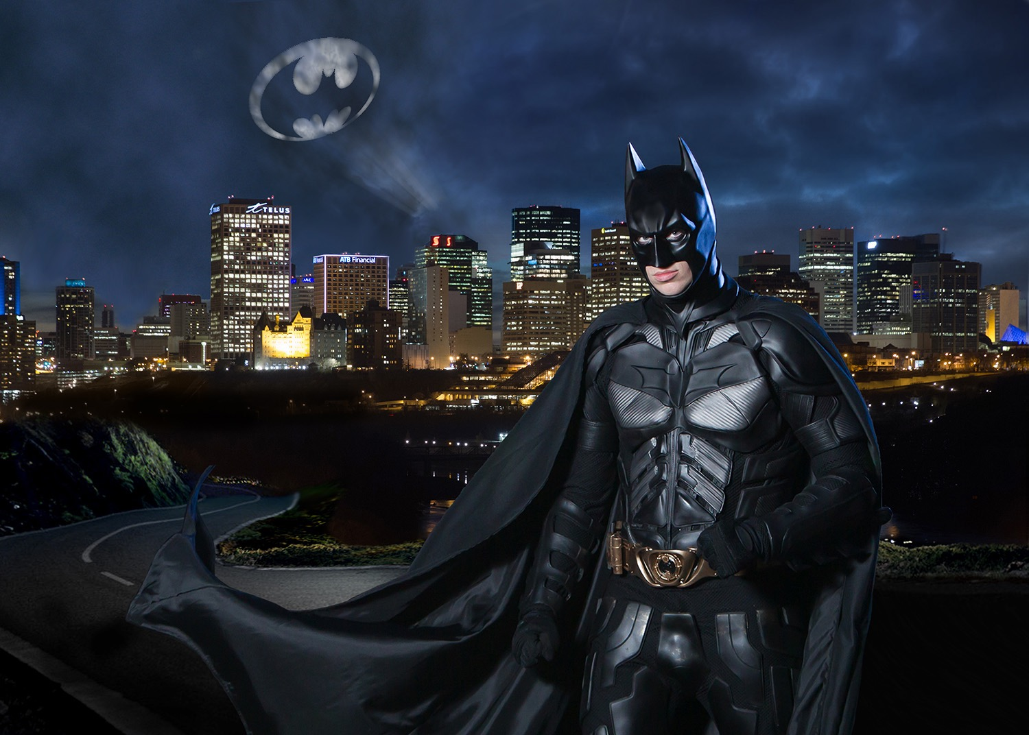 Batman cosplay by Trident Photography