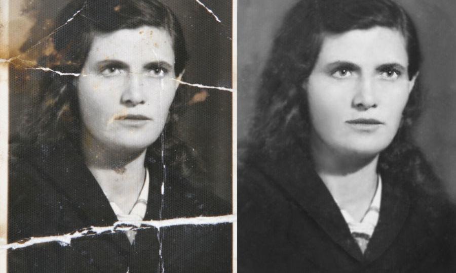 Professional image restoration retouching1